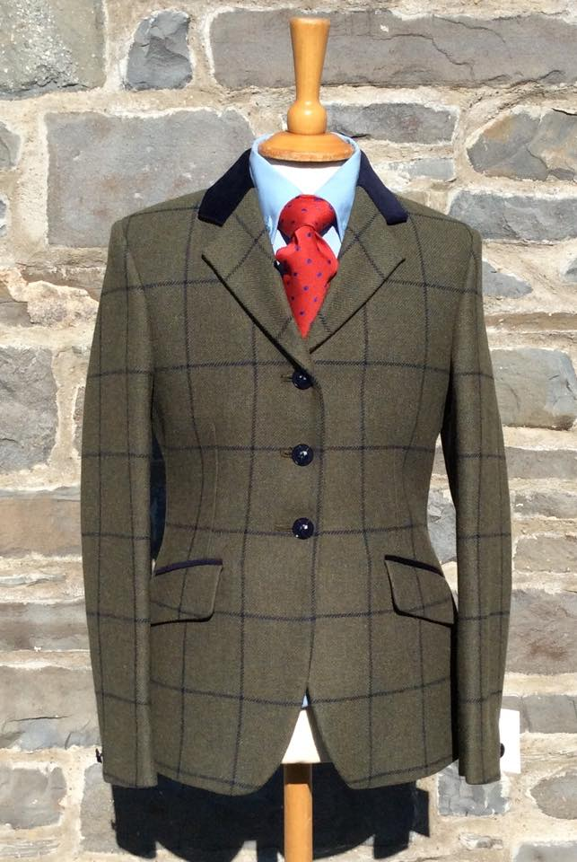 Carwyn Tweed Riding Jacket