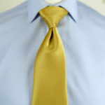 Plain Yellow Tie