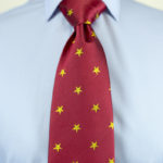 Star Tie Red yellow