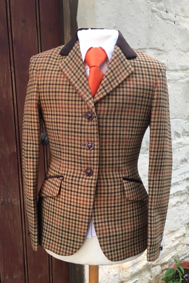 Zoe Tweed Jacket