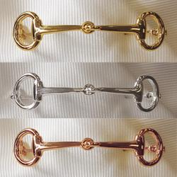 Snaffle Tie Pin