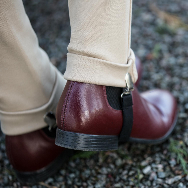 Tuffa Jodhpur Boots  – Oxblood