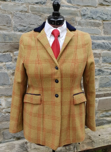 "Pre-owned ""Eirian"" Tweed Riding Jacket"
