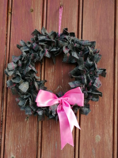 Menna Tweed Wreath